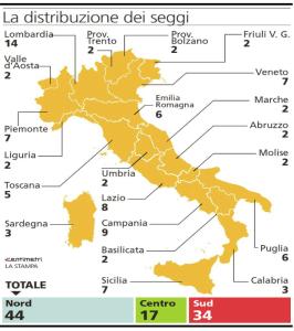 Informabano referendum costituzionale 4 dicembre 2016 for Composizione senato italiano