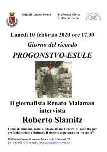 2020-02-10 Foibe _Slamitz _